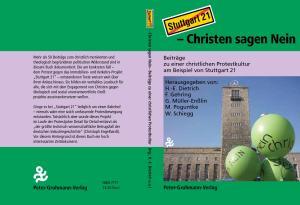 Christen Sagen Nein - Umschlag