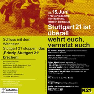 Demo-Flyer, 15.6.13